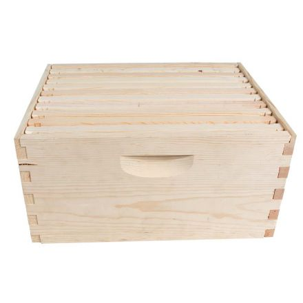 Goodland Bee Supply GL1STACK Single 10 Frame Deep Brood Box Beginners Beehive Kit