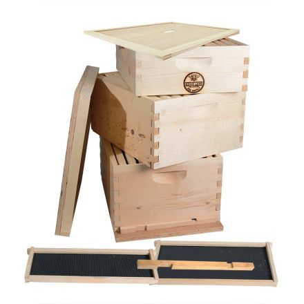 Good Land Bee Supply GL-2B1SK-ER Beekeeping Double Deep Box Beehive Kit
