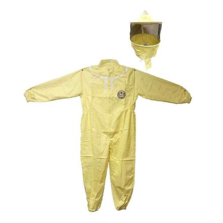 Goodland Bee Supply GLFS-XL Professional Beekeeping Protective Full Body Suit with Hat & Veil - Extra Large